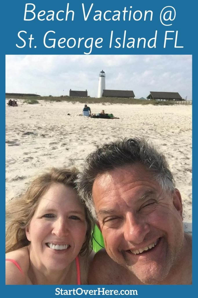 St. George Island Lighthouse and Beach Vacation