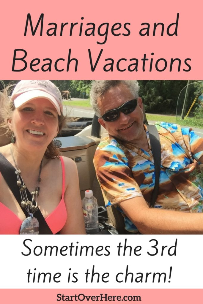 marriage and beach vacations