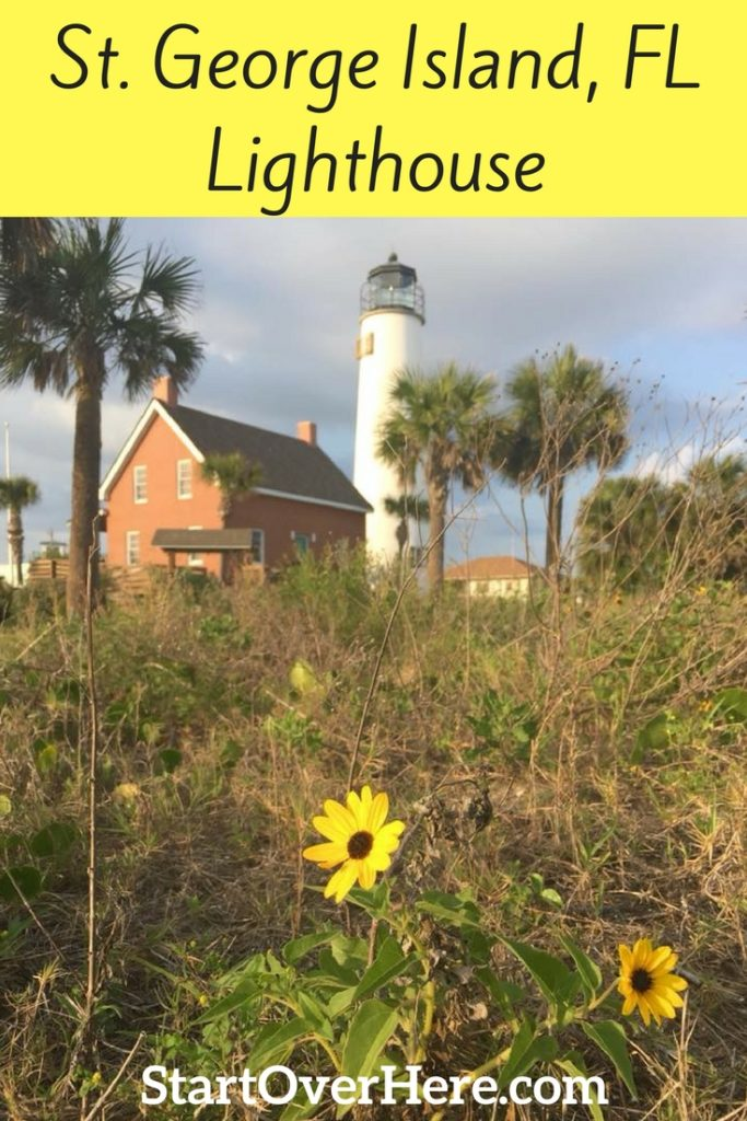 St. George Island and Lighthouse