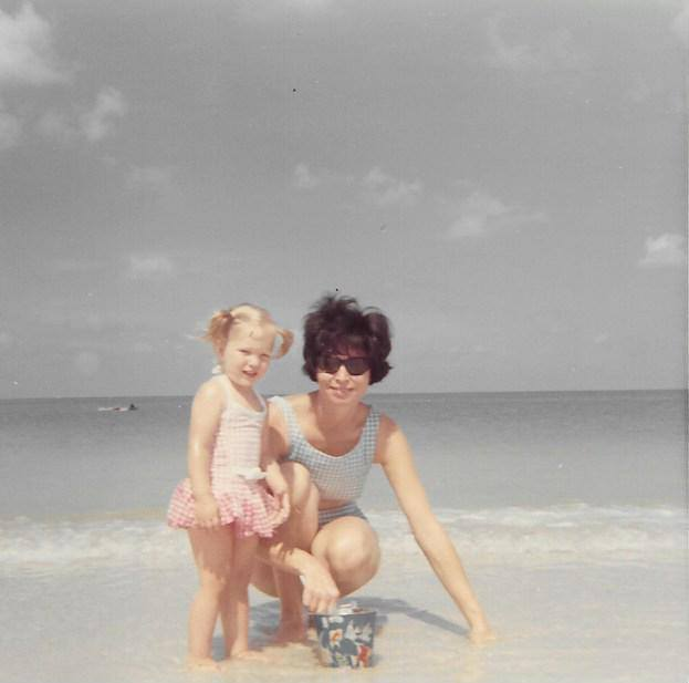 marnie and betty at Daytona Beach